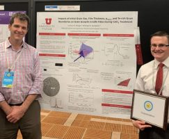 Winger wins best poster at annual IEEE PVSC Conference