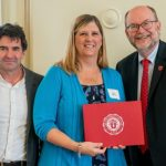 Sara J. Wilson recognized for contributions to department and university