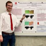 Undergraduate Tristan Lundgren presents at SME Conference